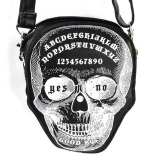 Ouija Skull Large Shoulder Bag Thumbnail 1
