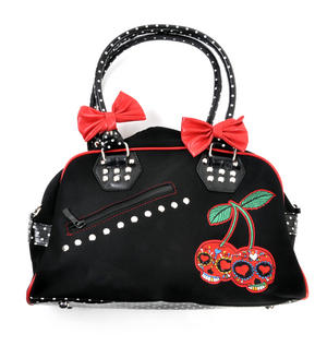 Cherry Skulls Carry All Bag Thumbnail 1