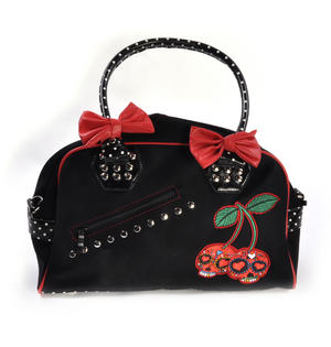 Cherry Skulls Carry All Bag Thumbnail 2