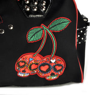 Cherry Skulls Carry All Bag Thumbnail 3