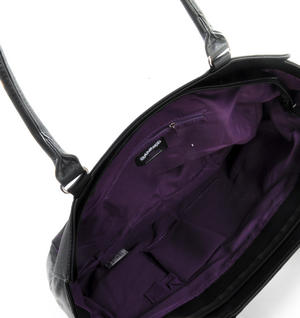 Purple Bats Shopping Bag Thumbnail 1