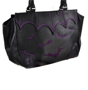 Purple Bats Shopping Bag Thumbnail 2