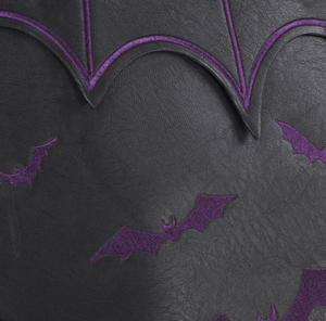 Purple Bats Shopping Bag Thumbnail 3