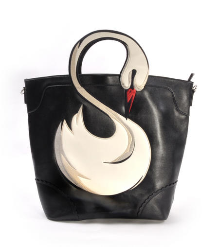 Swan Large Shopping Bag
