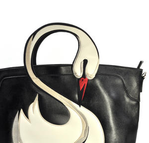 Swan Large Shopping Bag Thumbnail 2