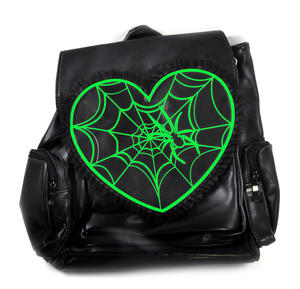 Glow in the Dark Spider's Web Backpack Thumbnail 1