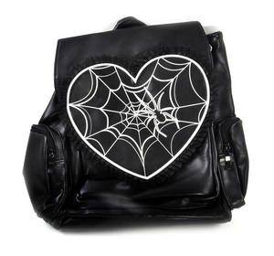 Glow in the Dark Spider's Web Backpack Thumbnail 2