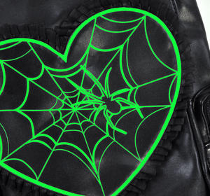 Glow in the Dark Spider's Web Backpack Thumbnail 3