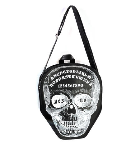 Ouija Skull Small Shoulder Bag