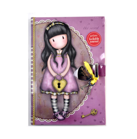 The Secret Lockable Journal by Gorjuss