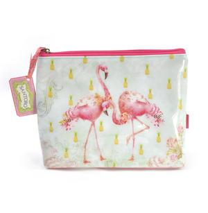 Flamingos Large Accessory Case by Santoro Thumbnail 1