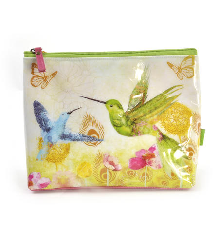 Humming Birds Large Accessory Case by Santoro