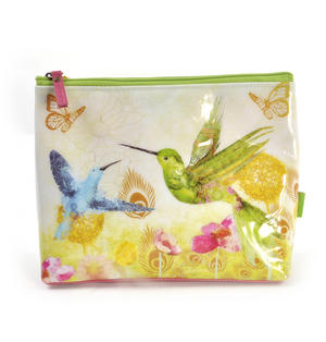 Humming Birds Large Accessory Case by Santoro Thumbnail 1