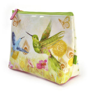 Humming Birds Large Accessory Case by Santoro Thumbnail 2