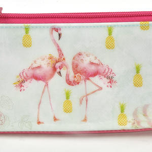 Flamingos Pencil & Accessory Case by Santoro Thumbnail 2