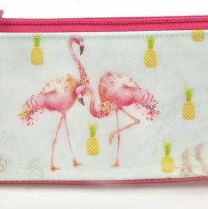 Flamingos Pencil & Accessory Case by Santoro Thumbnail 2