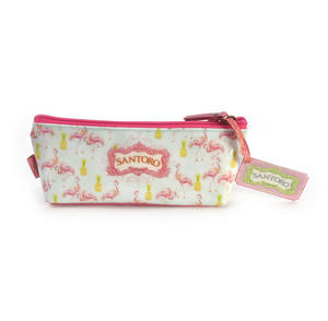 Flamingos Pencil & Accessory Case by Santoro Thumbnail 3