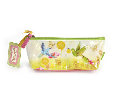 Humming Birds Pencil & Accessory Case by Santoro