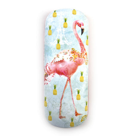 Flamingos Glasses Case by Santoro