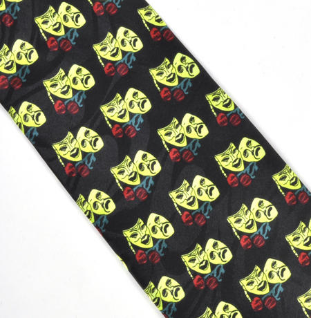 Comedy & Tragedy Tie for Actors, Actresses and Theatrical Workers