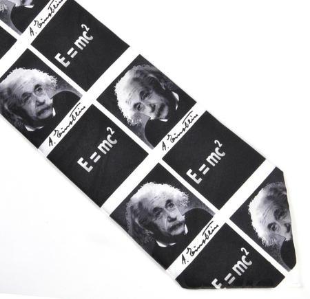 Albert Einstein Tie with E=MC2 Design