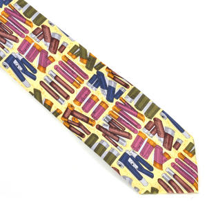 Cartridge Shell Silk Tie for Riflemen, Hunters & Marksmen Thumbnail 1