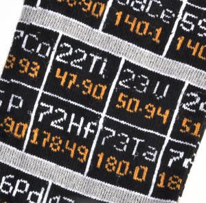 Periodic Table Socks for Physicists Thumbnail 2