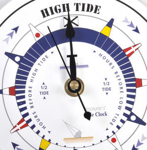 White Dial Tide Clock  - Round Acrylic TC 6000A - ACR Diameter 150mm Thumbnail 2