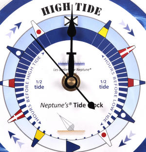 Sea Dial Tide Clock  - Round Acrylic TC 6000M - ACR Diameter 150mm Thumbnail 2