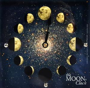 Moon Clock  - Double Acrylic Night Dial MC 150 N - ACR 150 x 150mm Thumbnail 4