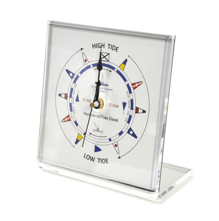 Classic Dial Square Standing Tide Clock - Acrylic TC 1010 C - ACR 150 x 150mm