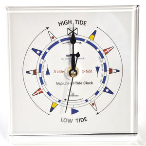 Classic Dial Square Standing Tide Clock - Acrylic TC 1010 C - ACR 150 x 150mm Thumbnail 4