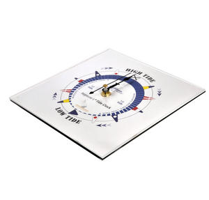 White Dial Tide Clock - Acrylic Classic Dial TC 7000 A - ACR 180 x 180mm