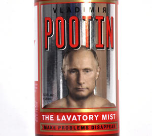 Vladimir Pootin Lavatory Mist - Make Problems Disappear Thumbnail 3