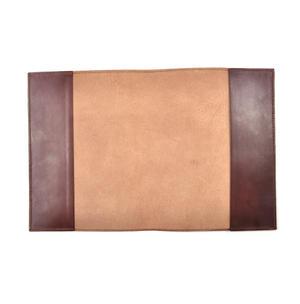 Khimaar Neutral Colour Leather Koran Book Sleeve with Alquram Alkarim Embossed Text Thumbnail 8