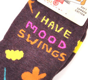 I Have Mood Swings Socks Thumbnail 1