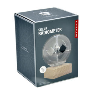 Solar Radiometer  by Kikkerland - Measures Radiant Flux of Electromagnetic Radiation Thumbnail 2