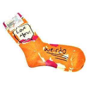 Love You Weirdo Socks Thumbnail 2