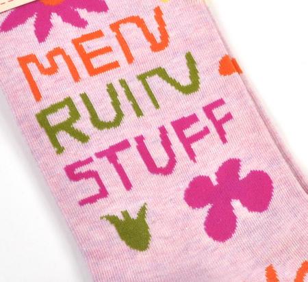 Men Ruin Stuff Socks