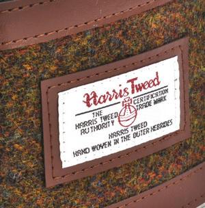 Stornoway Multi Weave Harris Tweed Hip Flask Thumbnail 2