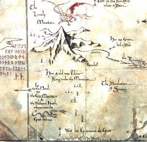 The Hobbit Map & Key of Thorin Oakenshield by The Noble Collection Thumbnail 8