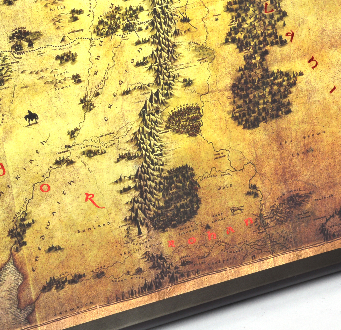 The Hobbit Middle Earth Map by The Noble Collection on bilbo's map, hobbit rivendell map, hobbit battle map, hobbit hobbiton map, thorin oakenshield map, hobbit elves map, the hobbit map, printable hobbit map, hobbit book map, hobbit journey map, hobbit map wallpaper, hobbit bilbo and thorin, hobbit azog figure, the one ring map, hobbit misty mountains map, thorin's map, lego hobbit map, hobbit kom map, lonely mountain map,