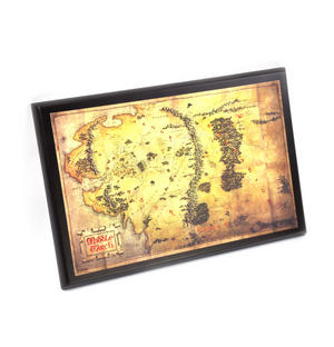 The Hobbit Middle Earth Map  by The Noble Collection Thumbnail 3
