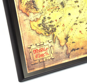 The Hobbit Middle Earth Map  by The Noble Collection Thumbnail 4