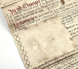 The Hobbit Bilbo Baggins Deed of Contract by The Noble Collection Thumbnail 7