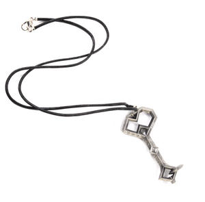 The Hobbit Thorin's Key Pendant On Leather Thong by The Noble Collection Thumbnail 1