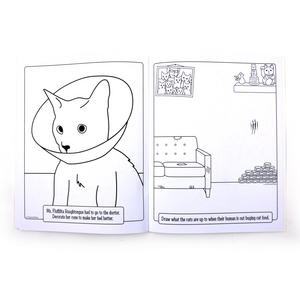 Crazy Cat Lady Colouring Book Thumbnail 3