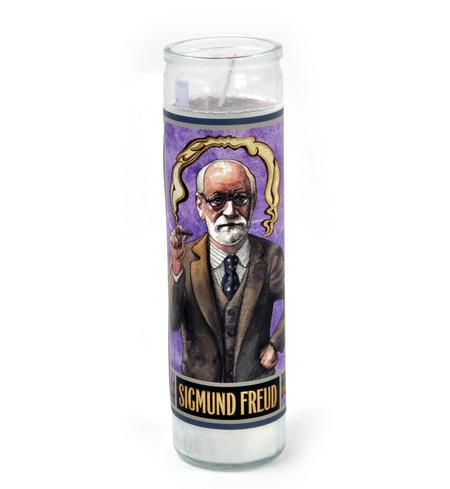 Sigmund Freud - Secular Saint Sigmund Candle