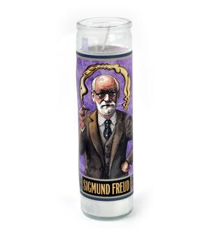 Sigmund Freud - Secular Saint Sigmund Candle Thumbnail 1