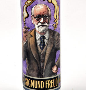 Sigmund Freud - Secular Saint Sigmund Candle Thumbnail 4